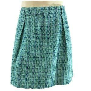 J. Crew Mini Tweed Skirt